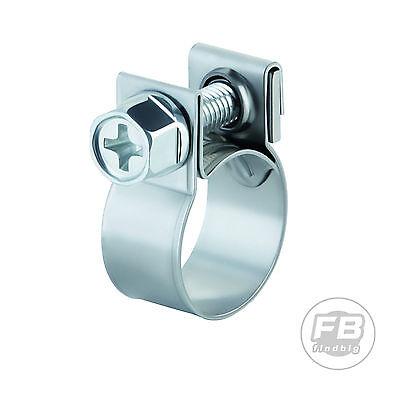 "30PCS 1/4""FUEL INJECTION HOSE CLAMP / AUTO Fuel clamps"