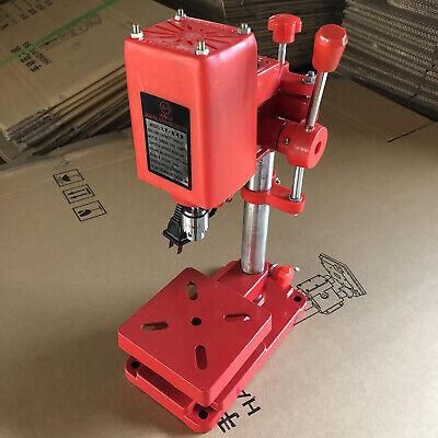 Electric Bench Drill Press Stand Mini Drilling Machines Precision Drill Pressing
