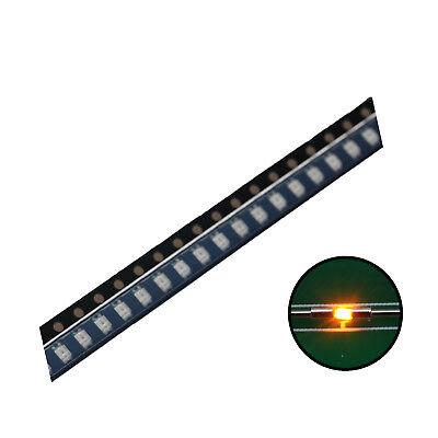 500pcs Smd Led Diode 06031608 Lights Chipsyellow Ultra Bright Bulb