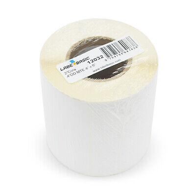 Labels For Primera Lx500 Printer 4 X 8 150 Matte Labels Per Roll