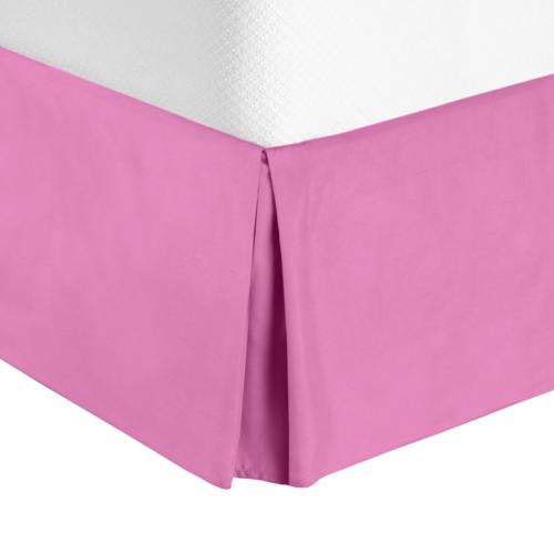 "Premium Luxury Pleated Tailored Bed Skirt - 14"" Drop Dust"