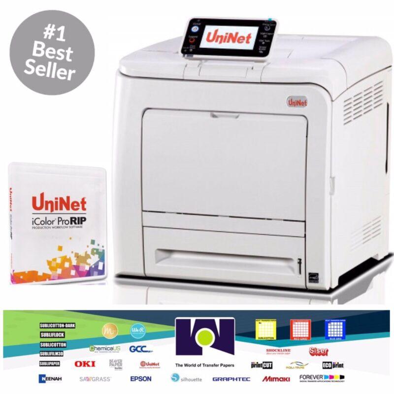 "Unínet iColor 550 A4/8.5""x11"""" Digital Color+White Transfer Media Printer+ProRIP"