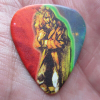 JETHRO TULL Collectors Guitar Pick; 'Aqualung' Eying Lil Girls with Bad Intent