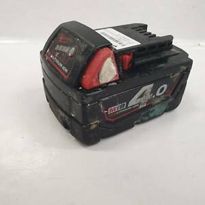 MILWAUKEE 4.0AH BATTERY #219652 Caboolture Caboolture Area Preview