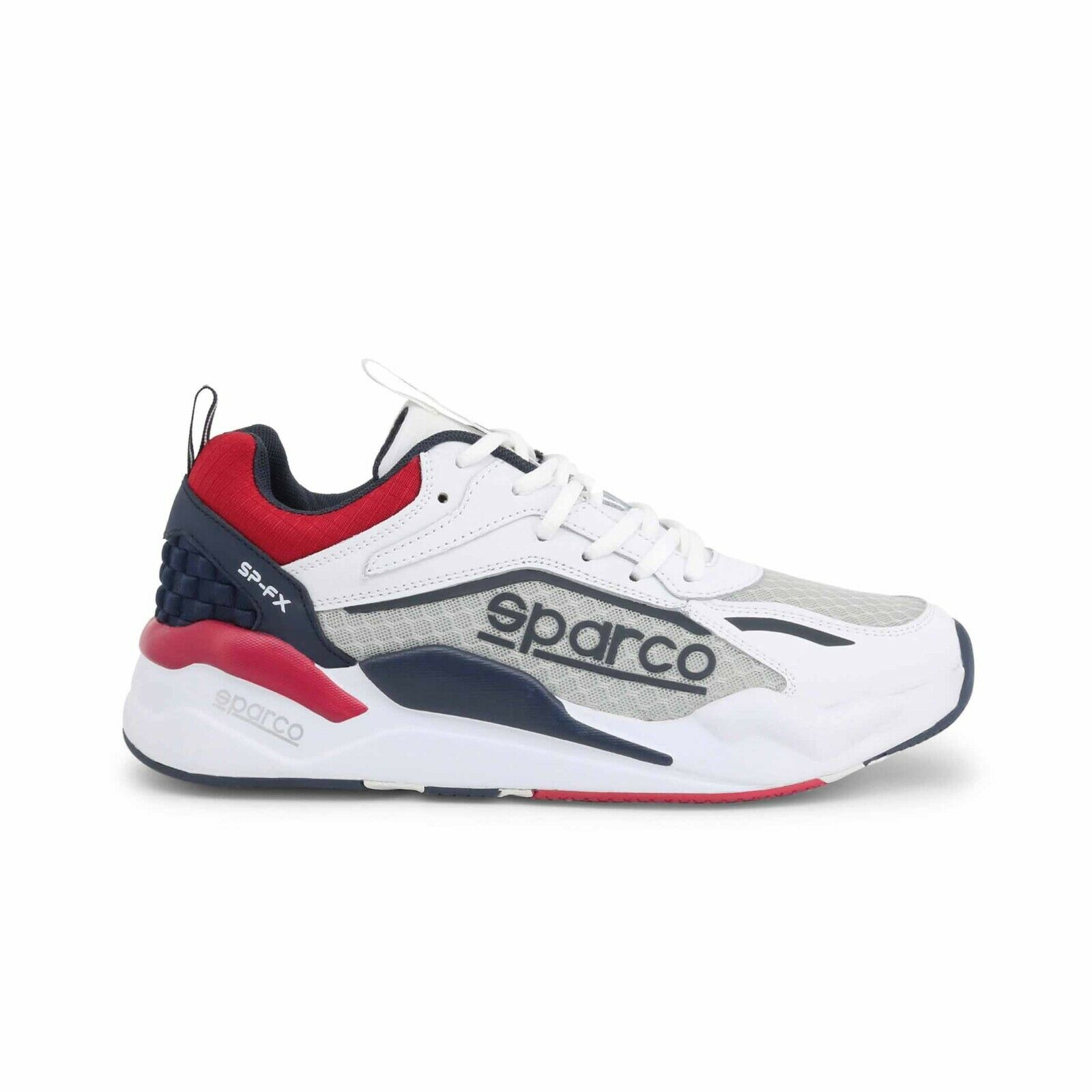 Sparco Unisexs K-Run Shoes Size 34 Blue//Red w34