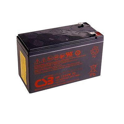 CSB HR1234W Batteria ermetica al piombo 12V 9Ah ad alta corrente di scarica