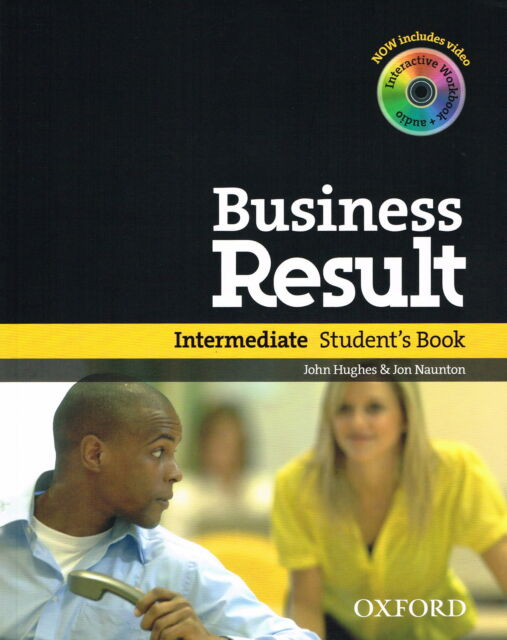 Oxford BUSINESS RESULT DVD EDITION Intermediate Student's Book w DVD-ROM @NEW@