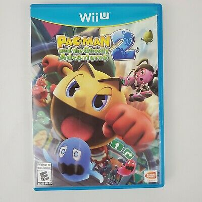 Pac-Man and the Ghostly Adventures 2 Nintendo Wii U Complete in Box Tested Works