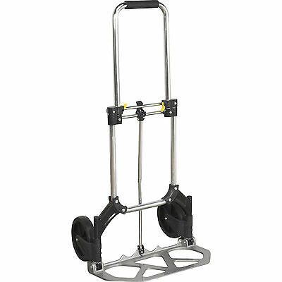 80KG FOLDING HAND TROLLEY HEAVY DUTY SACK TRUCK INDUSTRIAL WAREHOUSE DELIVERY