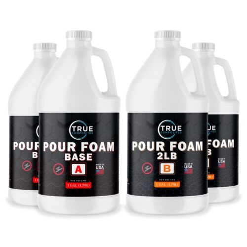 Expanding Liquid Polyurethane Closed Cell Flotation Foam 2lb Insulation 4 Gallon