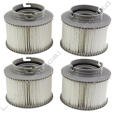 2 X Twin Pack Replacement Filter Cartridges for Mspa Hot Tub x 4 In Total