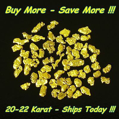 .580 Gram Placer Gold Natural Raw Alaskan Nugget Flake Fine Mined From Alaska AU