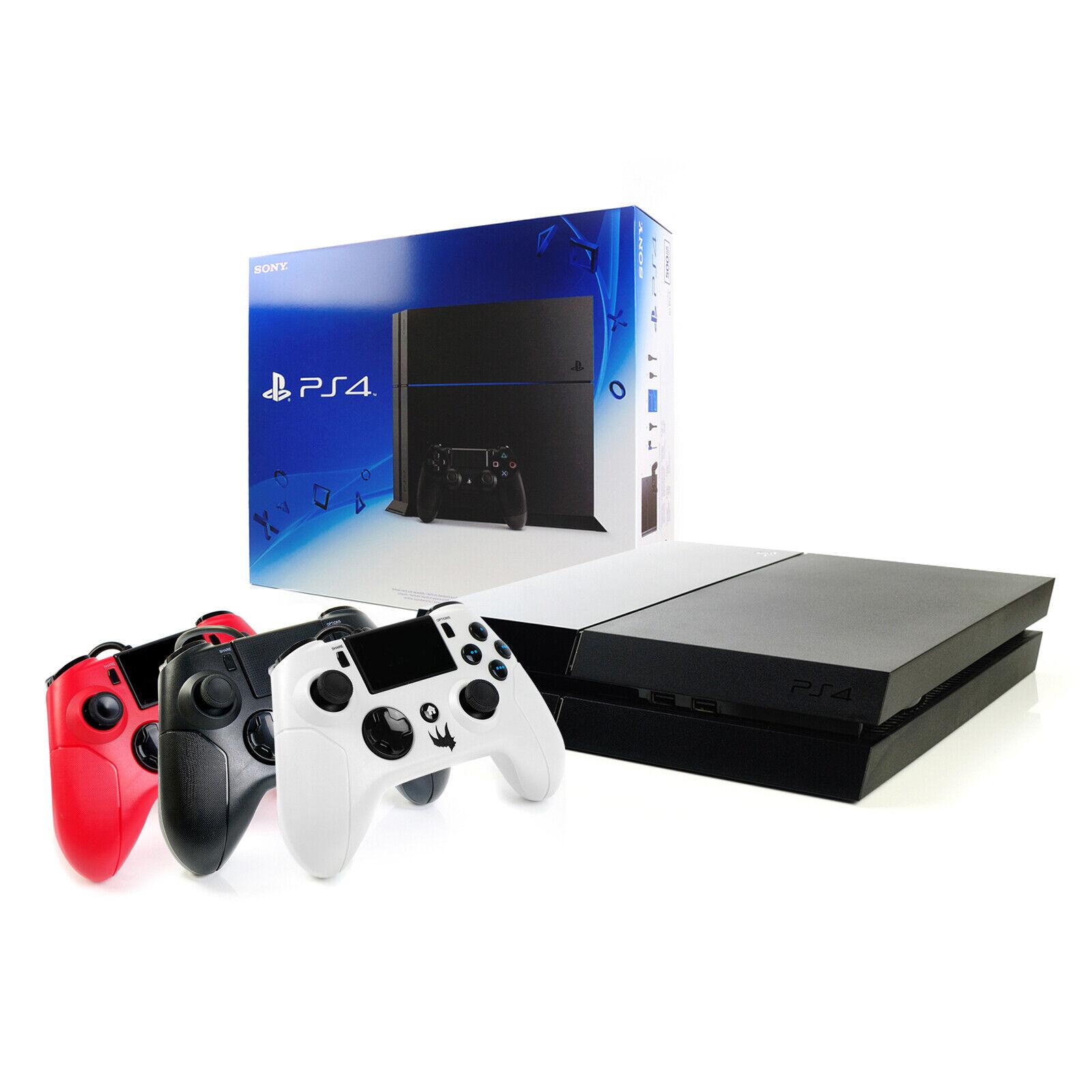 SONY PS4 Konsole 1000GB +NEUEN Gator Claw Controller - Black 1TB - Playstation 4