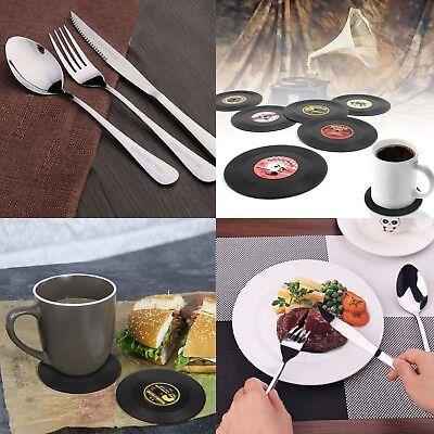 Restaurant Tableware (Stainless Steel Kitchen Hotel Restaurant Tableware Set Mirror Finished 4xCoaster )