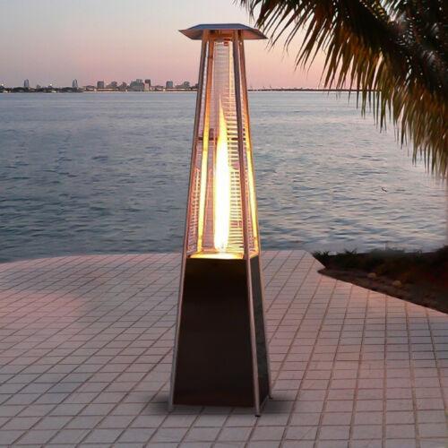 42000 BTU Pyramid Patio Heater Outdoor Garden Propane Gas He