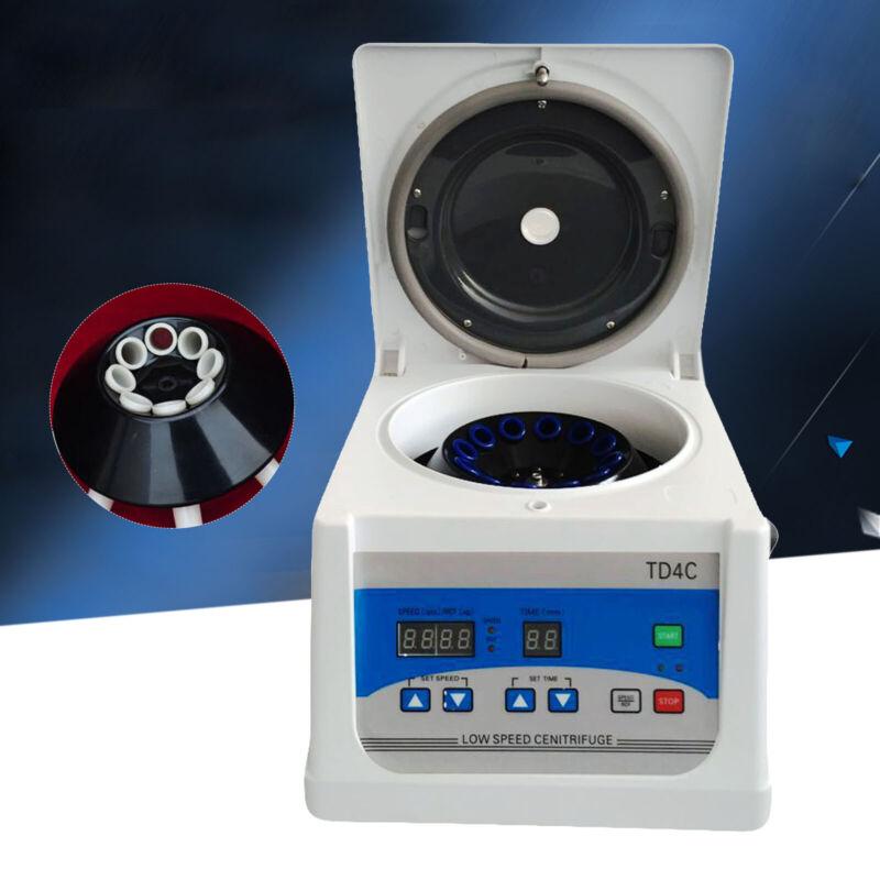 TD4C Lab Desktop Centrifuge 8*15ml PRP Blood Low-Speed Centrifuge USA SHIP