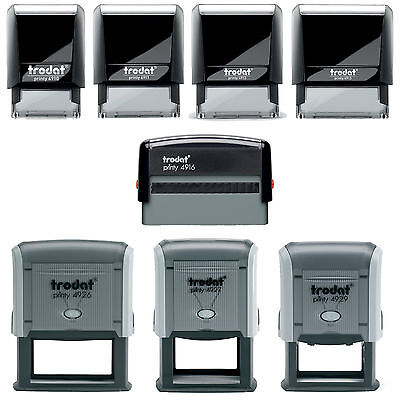 (Personalised Rubber Stamps Business Address Office School Education Self Inking)