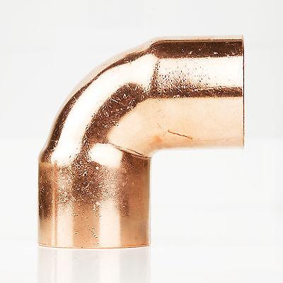 2 X 2 Copper 90 Degree Ell Elbow Plumbing Cxc Sweat Fitting