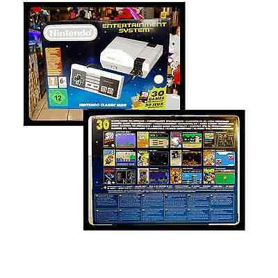 Nintendo NES Mini Classic 30 Giochi Preinstallati FIRST RELEASE 2016 BRAND NEW