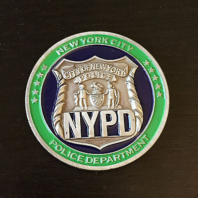 Official New York Police Challenge Coin