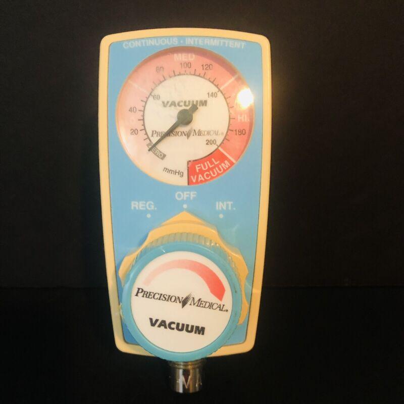 PRECISION MEDICAL Continuous Intermittent PM3300 VACUUM Regulator Warranty