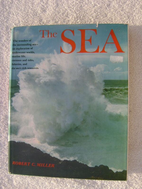 THE SEA BOOK MARITIME NAUTICAL MARINE (#047)
