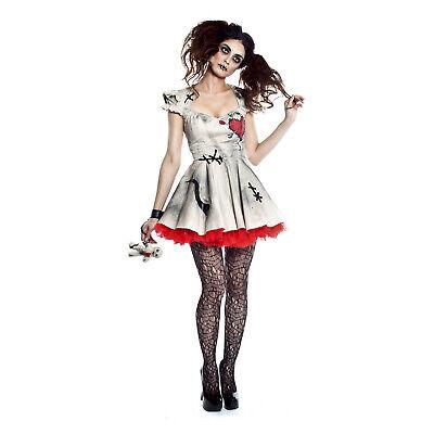 Adult Women's Teen Voodoo Magic Torture Doll Halloween Costume Dress Doll Prop