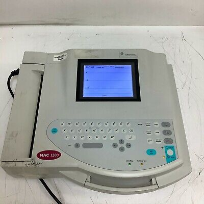 Ge Mac 1200 Ekgecg Machine