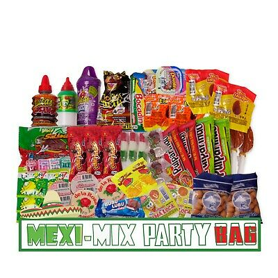 Mexican Candy Assortment Snacks (46 count) Dulces Mexicanos