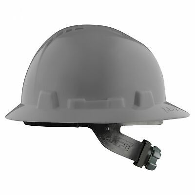 Lift Safety Briggs Full Brim Vented Hard Hat With Ratchet Suspension - Grey