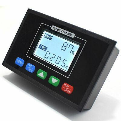 0100 Digital Pwm Motor Speed Controller Dc 12v 24v 36v 48v Time Reversible 40a