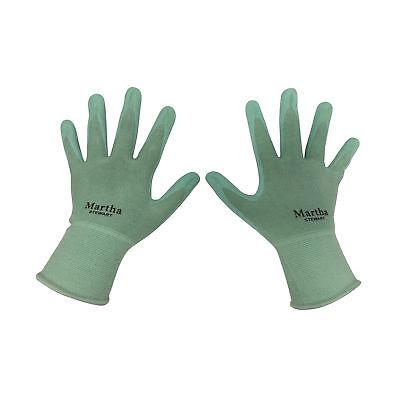 Martha Stewart Garden Gloves Pack of Three Pair   Abrasion-Resistant   Small