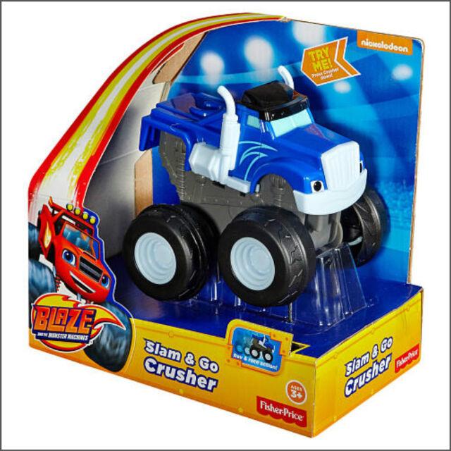 Blaze and the Monster Machine Toy Fisher-Price Nickelodeon Slam & Go Crusher Toy