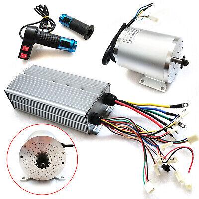 72V 3000W E-Bike Elektromotor bürstenloser Motor + Controller + Rückwärtsgang