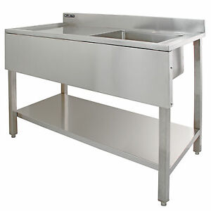 commercial kitchen sink units sink stainless steel catering kitchen single 5640