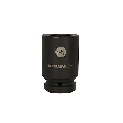 STEELMAN PRO 79394 1-Inch Drive x 1-5/8-Inch 6-Point Deep Impact Socket, used for sale  Las Vegas