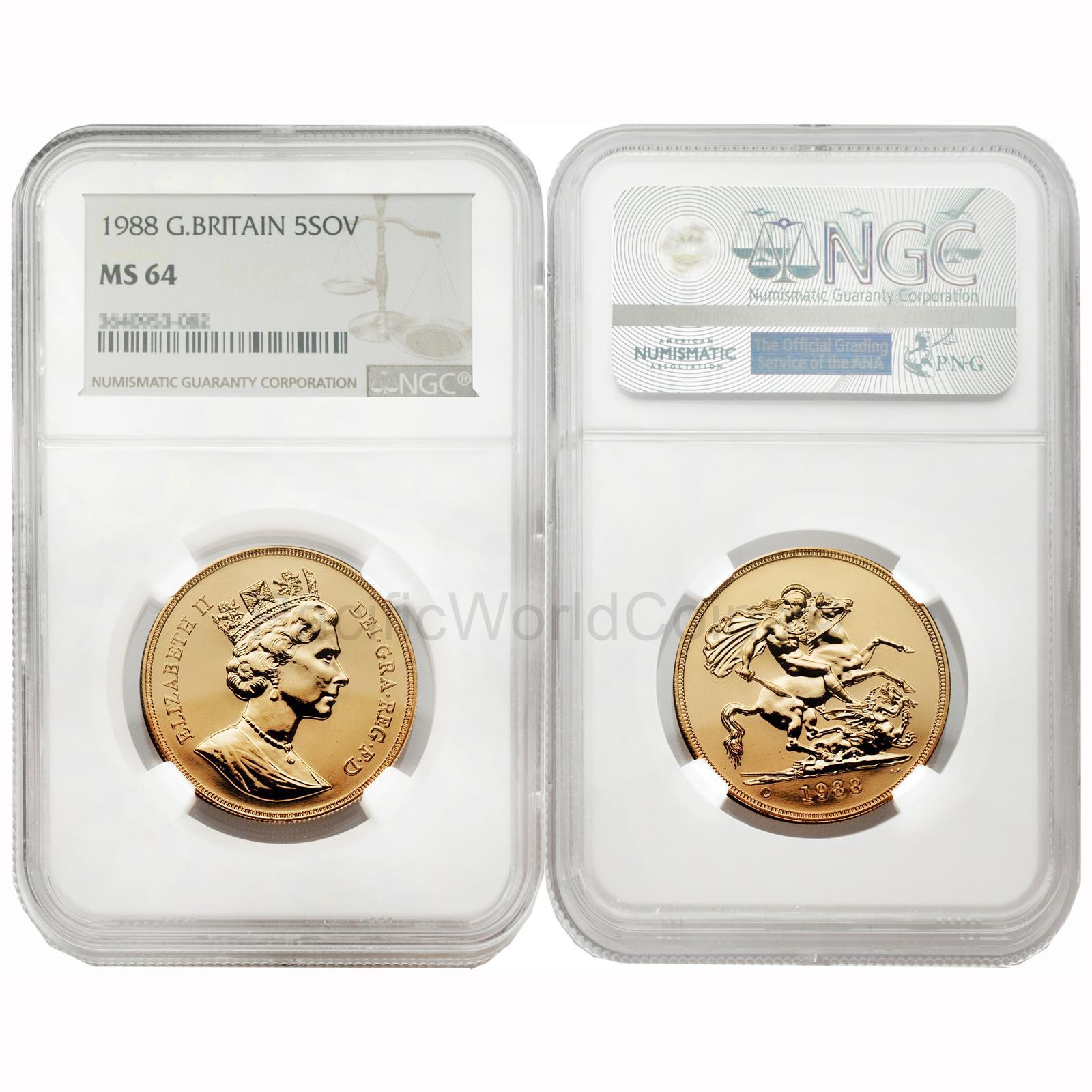 Great Britain 1963 Sovereign Gold Coin NGC MS64 SKU# 6562
