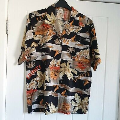 Vintage cotton Hawaiian Shirt size 36?