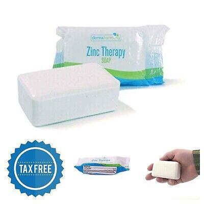 Seborrheic Dermatitis, Dandruff, Psoriasis 2% Pyrithione Zinc (ZnP) Bar Soap
