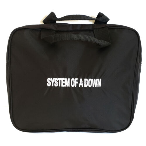 SYSTEM OF A DOWN small black promo tote bag Live Nation NEW Tour Crew Exclusive