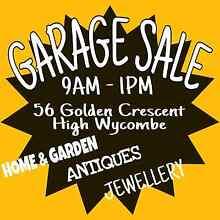 ★GOLDEN GARAGE SALE ★ High Wycombe Kalamunda Area Preview
