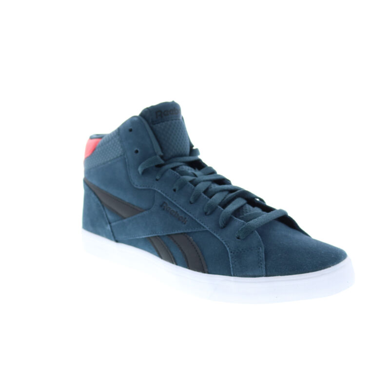Reebok Royal Complete 2MS CN7355 Mens Blue Suede Lifestyle Sneakers Shoes