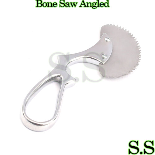 "Bone Saw Angled Surgical Orthopedic Instruments 6"" Veterinary"