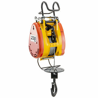 Electric Hoist Electric Winch 230kg Capacity With 30m Wire Rope Pulling System