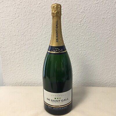 1 Champagner Magnum Flasche De Saint Gall 1,5 Liter Leer Dekorationsflaschen