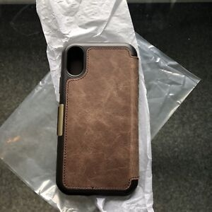 Otterbox Strada series leather case for iphone x