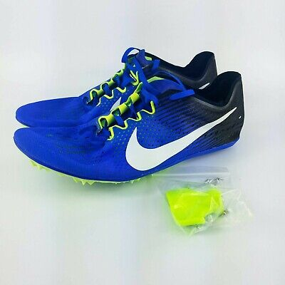 new product b8a87 a6030 Nike Zoom Victory 3 Track Racing Spikes - Blue Black Volt - 835997-413 -  Sz  12