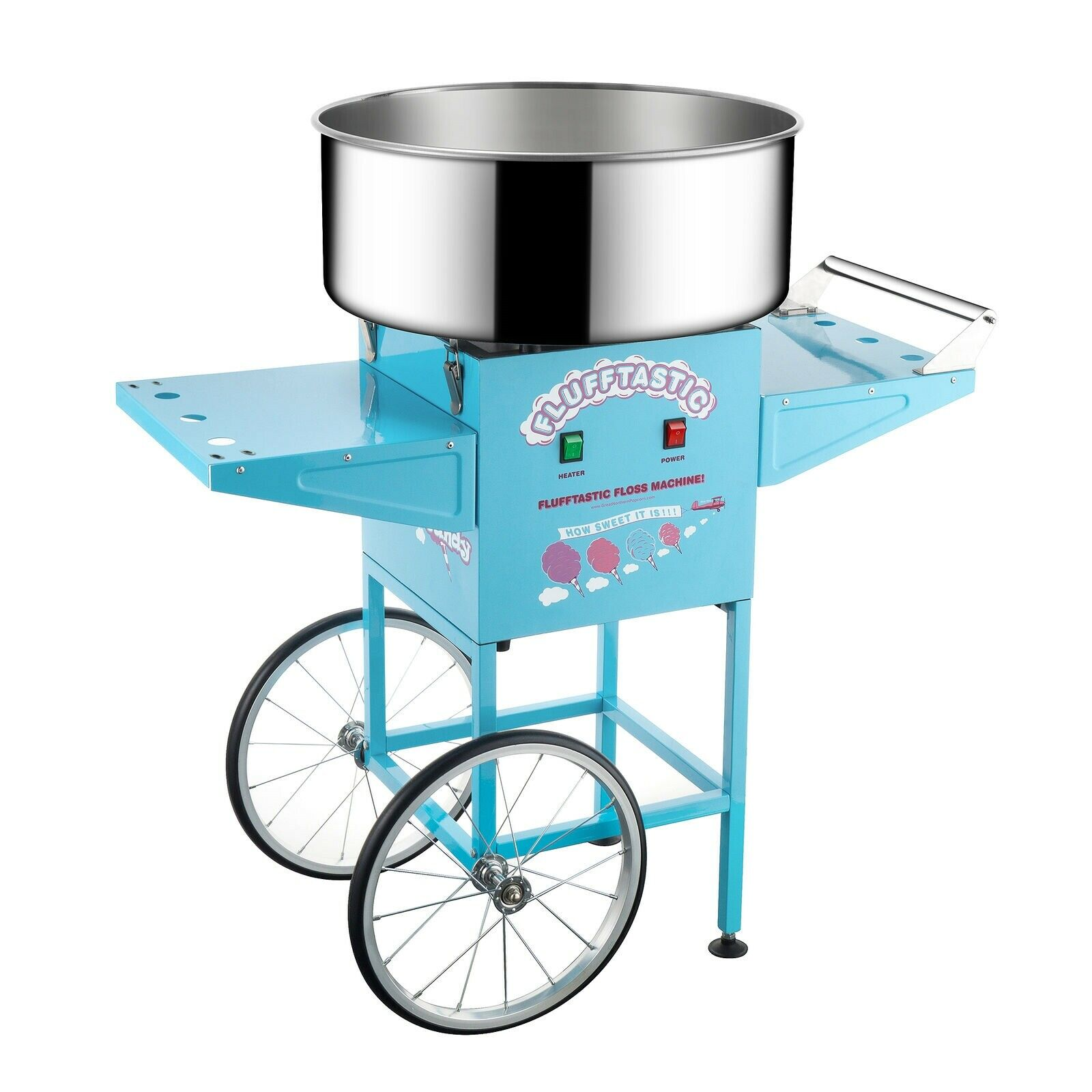 Great Northern Popcorn Flufftastic Cotton Candy Machine Flos