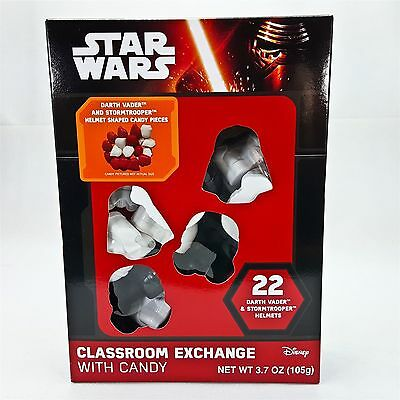 Star Wars Darth Vader StormTrooper Helmet Containers w Candy Party Supplies 22pc