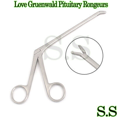 Love Gruenwald Pituitary Rongeurs 5 Down Angled Neuro Surgical Instruments